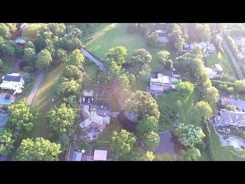 Aerial Drone View Of Kings Point New York | DJI Phantom