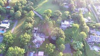 Aerial Drone View Of Kings Point New York   DJI Phantom