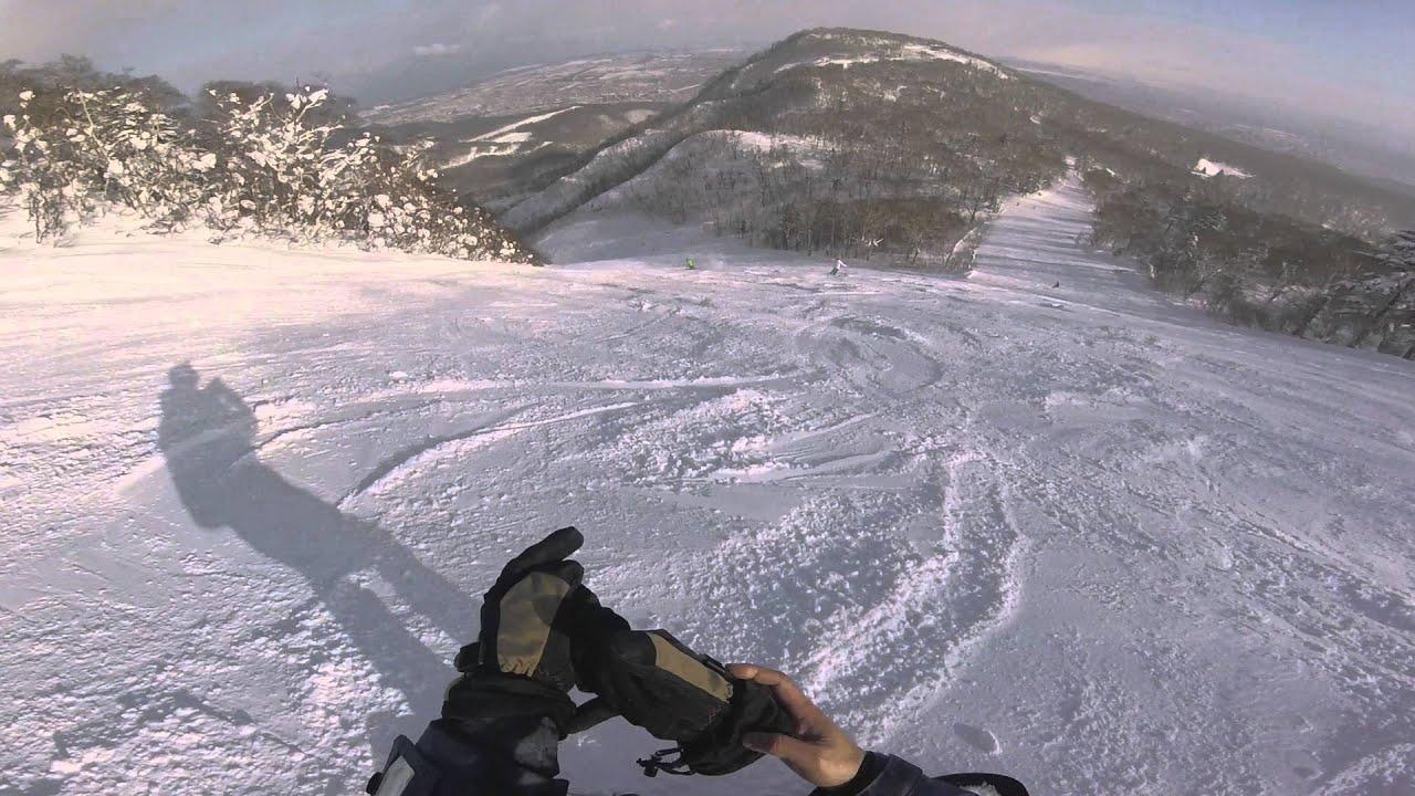 札幌手稻滑雪場 黑線 - YouTube