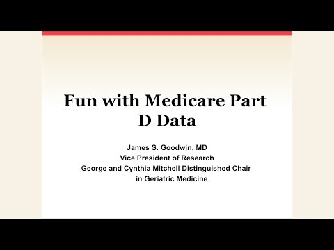Fun with Medicare Part D Data