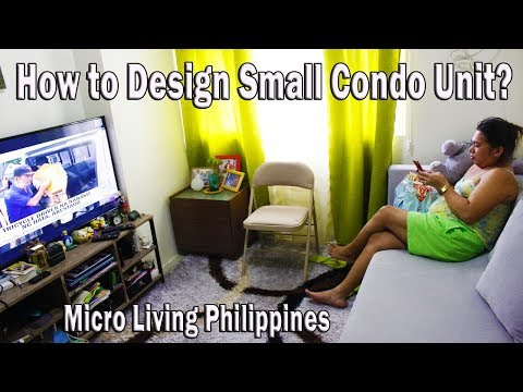 🏠 How To Design a Tiny Living Space To Accomodate Your Friends  | Micro-living Philippines  | EP1