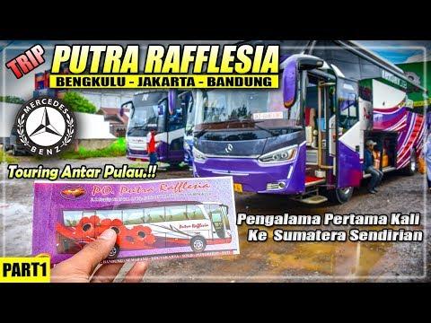 Pengalaman 22 JAM Perjalaan BENGKULU - JAKARTA    Trip Naik Bis Putera Raflesia Legacy SR2 HD Prime
