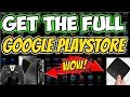 ACCESS FULL GOOGLE PLAYSTORE On Nvidia Shield Xiaomi Mi Android TV Box Easy Trick 2018 mp3