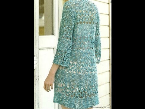 Crochet Patterns| for |chunky crochet cardigan pattern free| 1203 ...