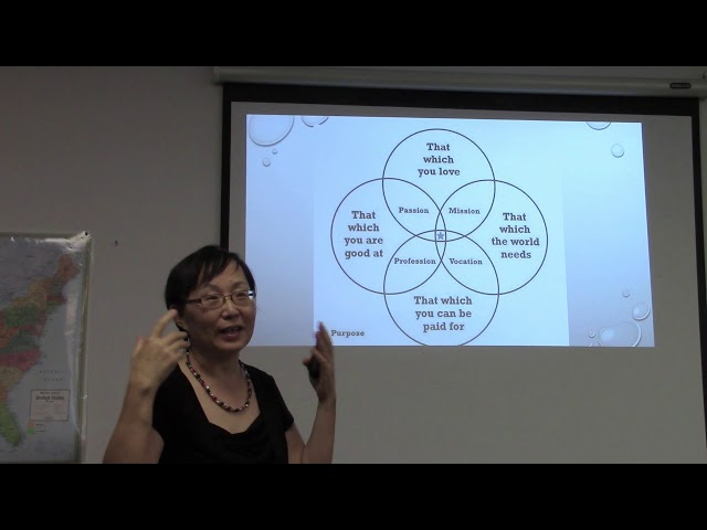 Seminar August 17, 2019: Motivation and Passion by Paula Liu