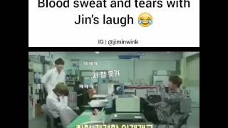 BLOND SWEAT  TEARS with Jimins laugh