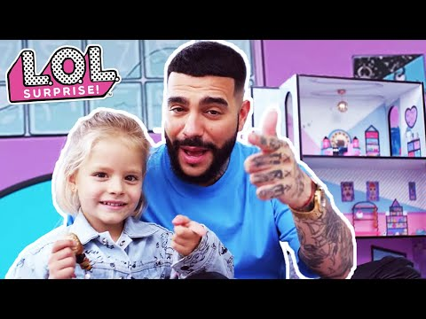 """Timati Music Video Featuring LOL Surprise – """"So Cool To Be A Dad"""""""