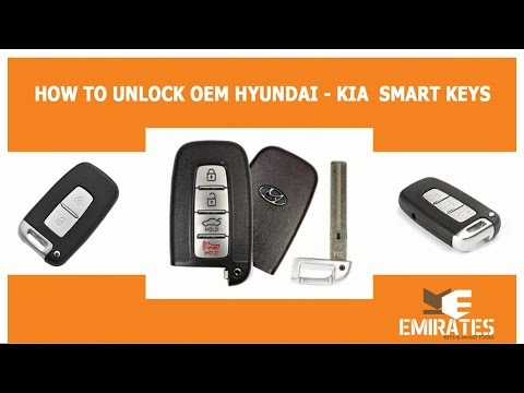 How to Unlock Oem hyundai Kia Smart Keys via MK3