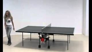 видео всепогодный теннисный стол