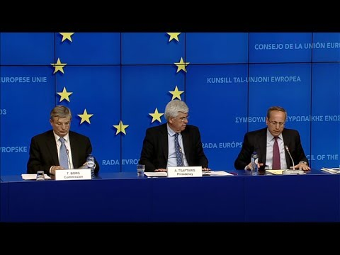 AGRIFISH Council of Ministers (Brussels, 19.05.2014) - Press Conference