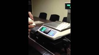 POS with barcode scanner and cash drawer
