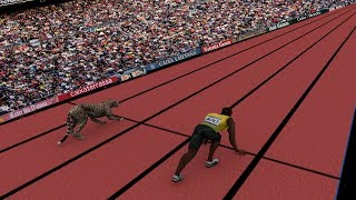 Speed Comparison: Average Person VS Usain Bolt & Cheetah