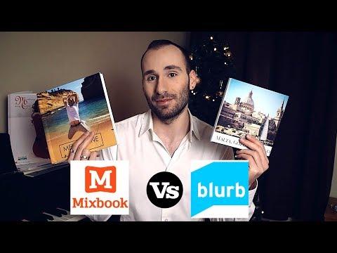MIXBOOK Vs BLURB LAY FLAT PHOTO BOOK COMPARISON - REVIEW