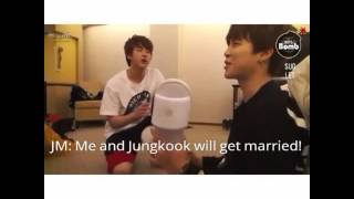[BTS] Jimin Want To Marry Jungkook