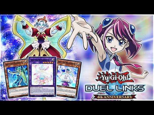 FREE WINS! NEW ARC-V Melodious: An INCREDIBLE OTK Deck.. BUT!   Yu-Gi-Oh! Duel Links