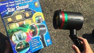 Star Shower Review | Star Shower Laser Light Review | Laser Christmas Lights