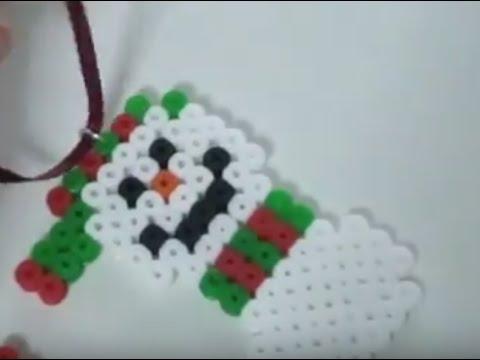 diy perler beads christmas ornaments - Perler Beads Christmas