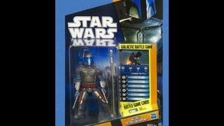 Обзор(Review) фигурки Star wars Джанго Фетт (HD видео)