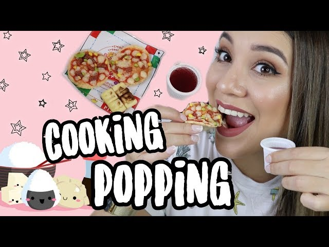 HACIENDO POPPING COOKING!!! Son comestibles?