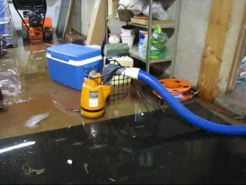Water Damage Restoration AAA Flood Drying, MA NH | Pumping Out A Flooded  Basement   YouTube Pictures Gallery