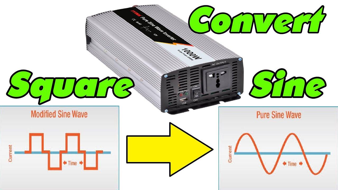 Convert Square-Wave Inverter into Sine-Wave Inverter