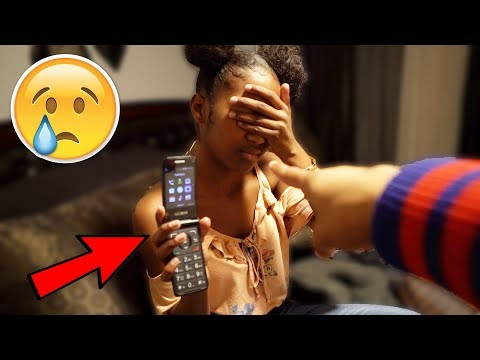 I Took My Little Sister's iPhone XS From Her & Gave Her A Flip Phone.. **EMOTIONAL**