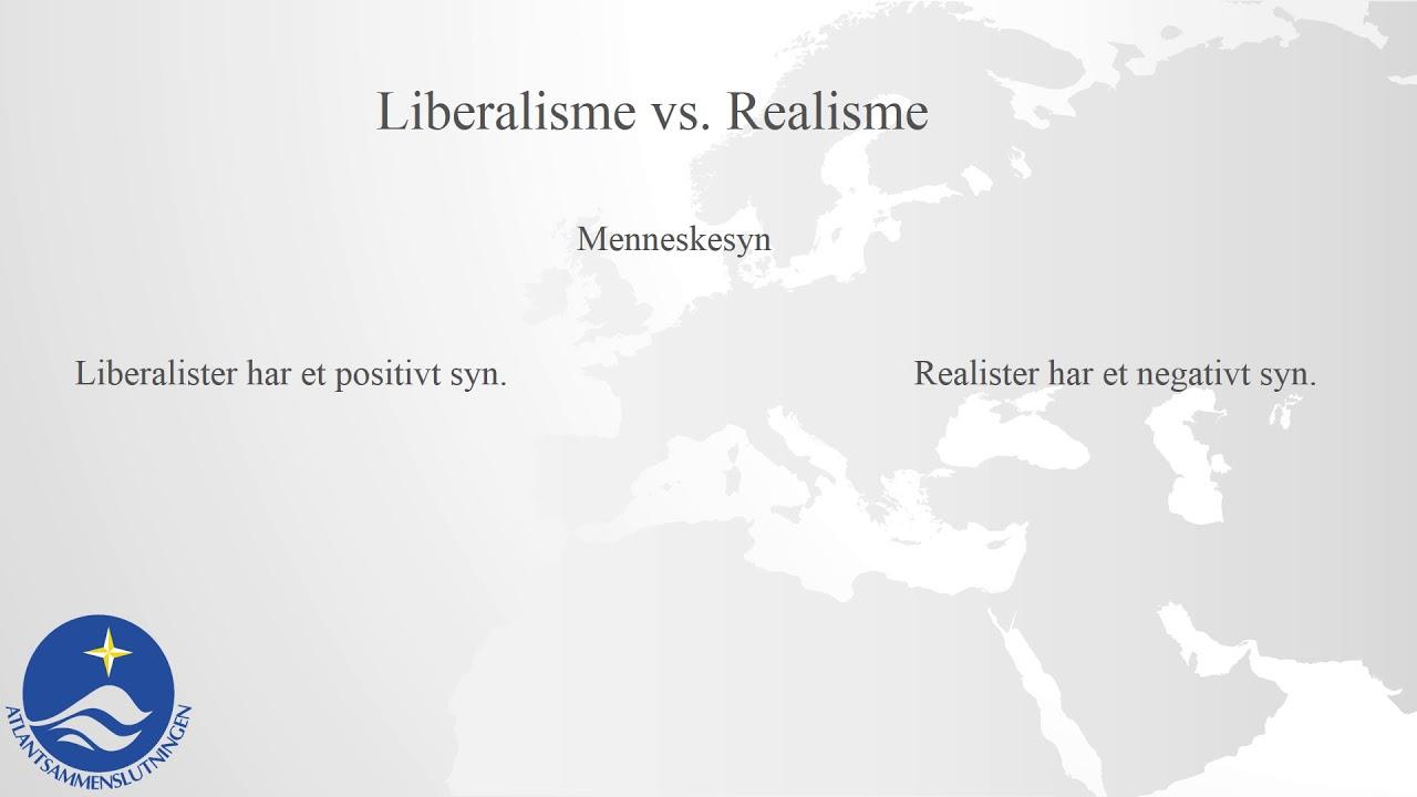 Forstå international politik - Liberalisme