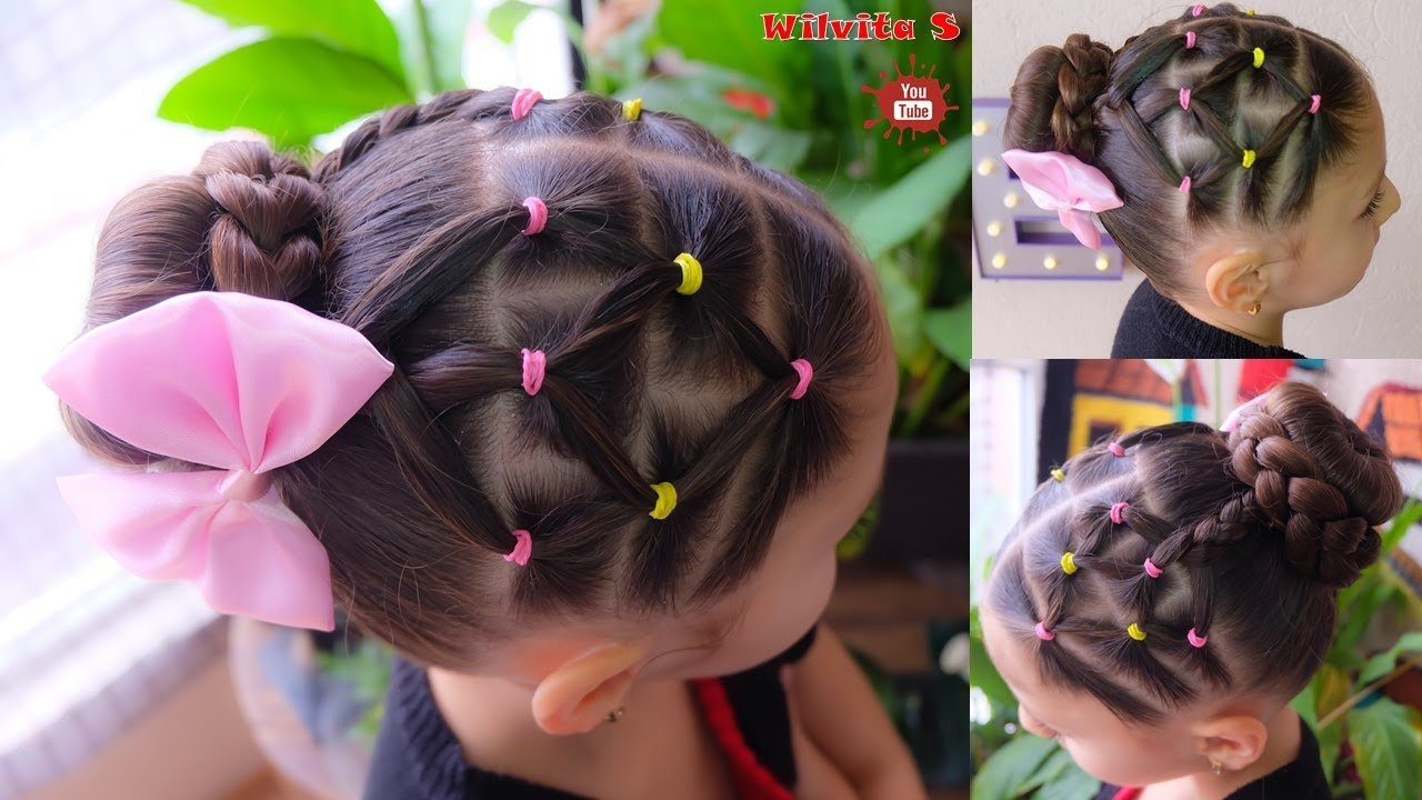 Peinados faciles y rapidos de hacer para ni as back to - Peinados faciles y rapidos paso a paso ...