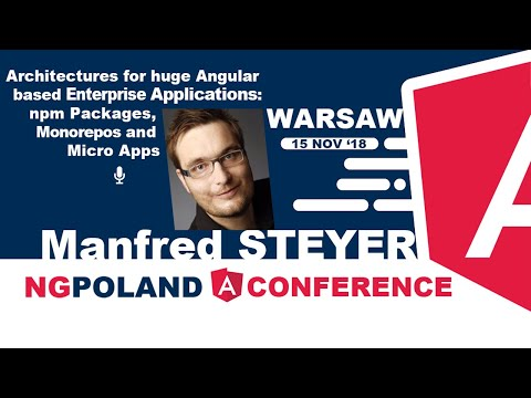 ngLearn by ngPoland - Advanced Angular Workshop: Architecture for