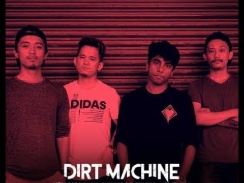 Band at the studio (Dirt Machine)