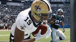 NFL Today 12/29 New Orleans Saints vs Carolina Panthers Full Game | NFL Week 17 (Madden)