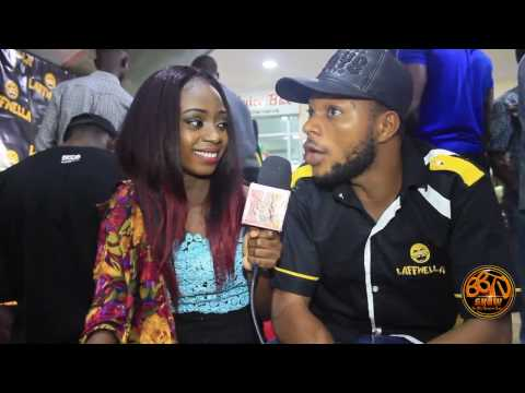 Denilson Igwe   Mark Angel Comedy with all crews at Laugh Wella App Lunch