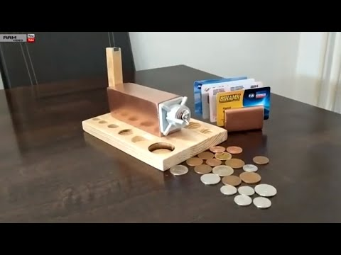 SUPER COOL DIY  IDEAS, HOW TO MAKE MINI WOOD SAFE FOR YOUR MONEY, AMAZING HOMEMADE INVENTIONS
