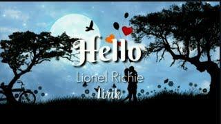 Download Hello - Lionel Richie   Lirik Lagu