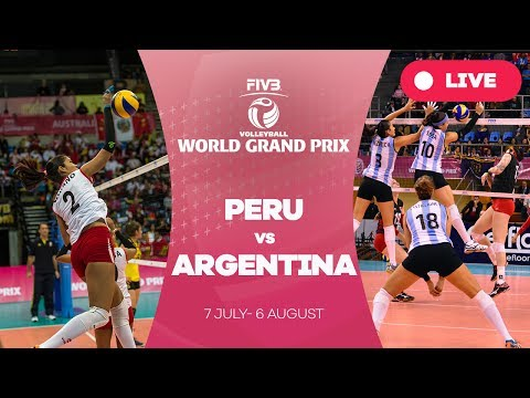 Peru v Argentina - Group 2: 2017 FIVB Volleyball World Grand Prix