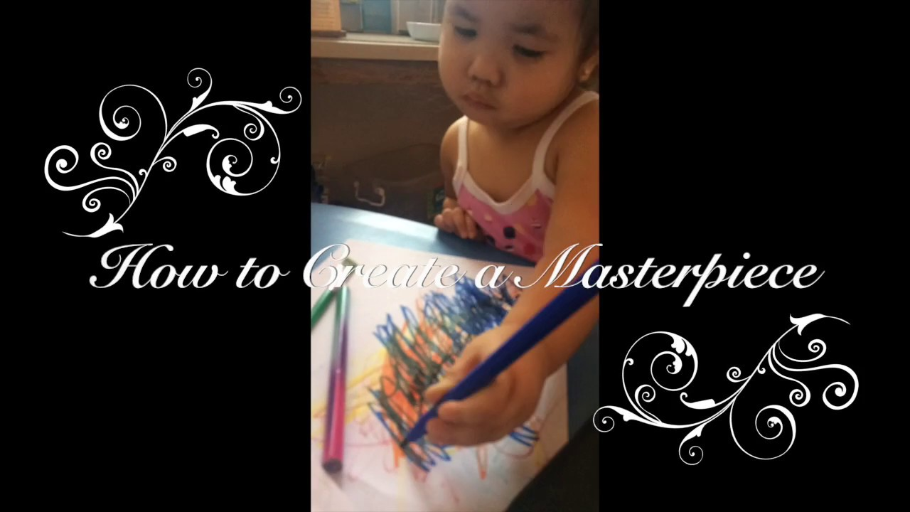 how to create a masterpiece