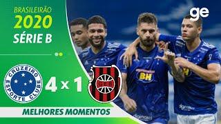 CRUZEIRO 4 X 1 BRASIL DE PELOTAS | MELHORES MOMENTOS | 26ª RODADA BRASILEIRÃO SÉRIE B 2020 |ge.globo