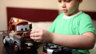 Tow Mater from Cars 2 ( Toy review ) HD HQ