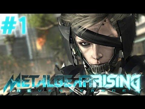 Metal Gear Rising: Revengeance - Raiden - Bölüm 1