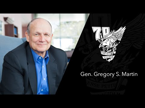 Founders Day 2016 - Gen. Gregory S. Martin '70, 2015 Distinguished Graduate