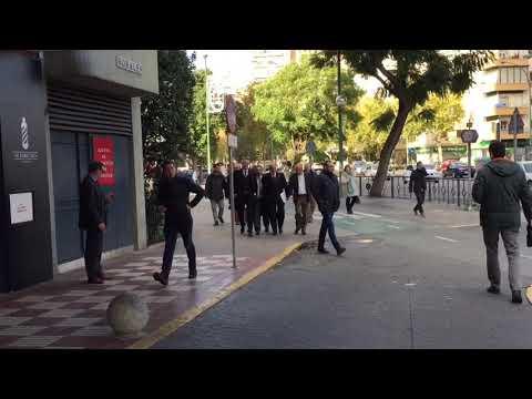 Del Nido llega a la Junta de Accionistas del Sevilla 2017