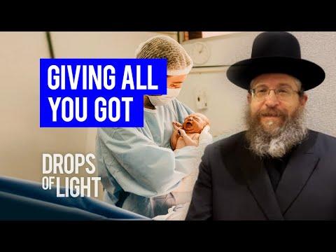 Giving All You Got 110 Seconds Rabbi Fishel Schachter