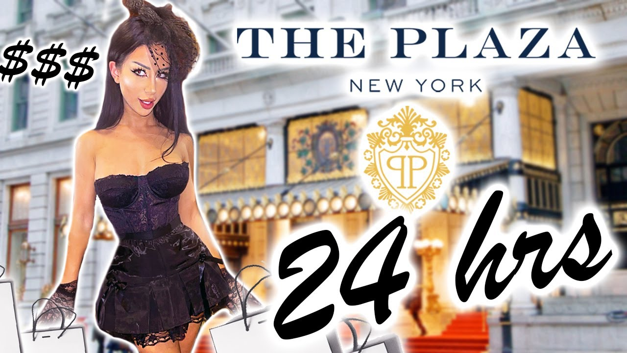 24 Hours At The Plaza Hotel!