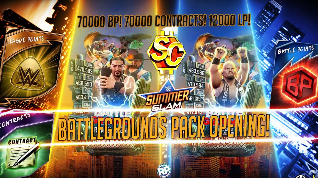 Download 7X BATTLEGROUND CARDS PULLED! LOTS OF PROS & SUPERCOINS PACK OPENING! WWE SuperCard
