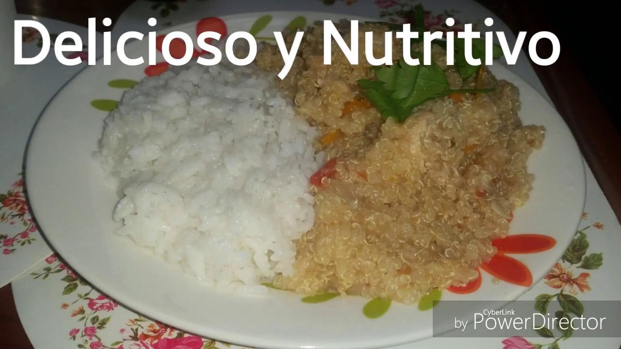 Recetas de comida peruana guiso de quinua