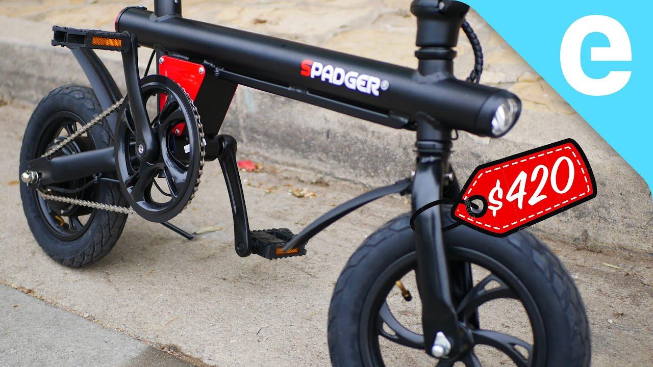 Testing the cheapest (good) e-bike on Amazon