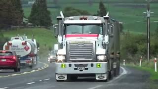 Will Bishop Trucks New Zealand, Kaimais July 2019