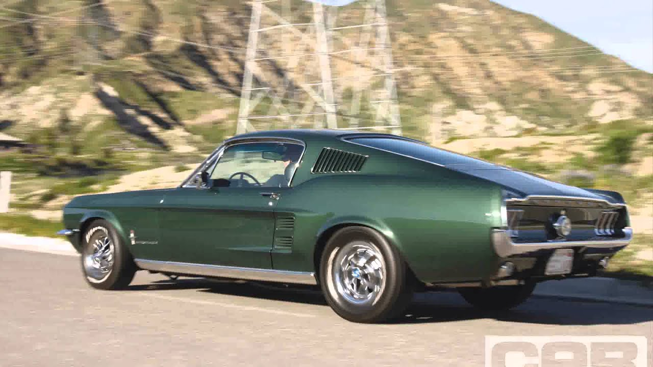 1967 ford mustang fastback - YouTube