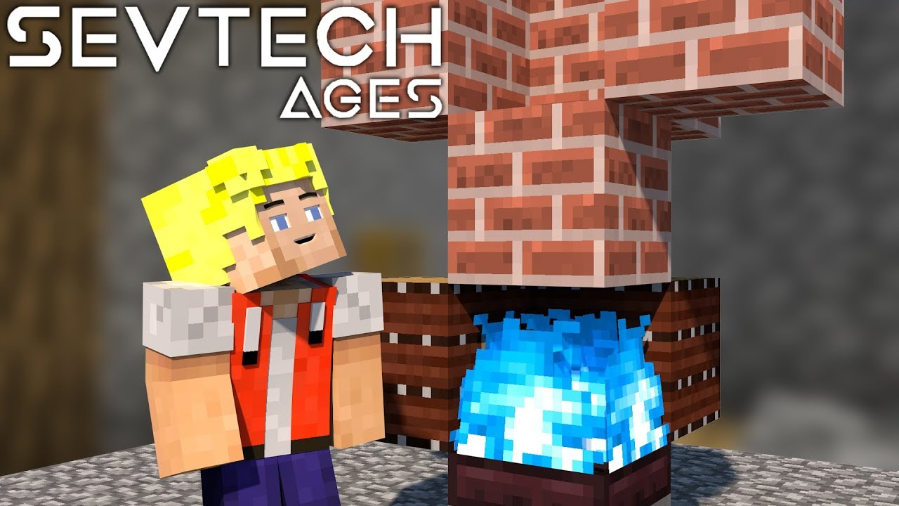 Super heiße Flamme! Stoked Kiln - #35 SevTech Ages [Stage 3] - German