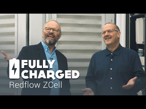 Redflow ZCell batteries | Fully Charged